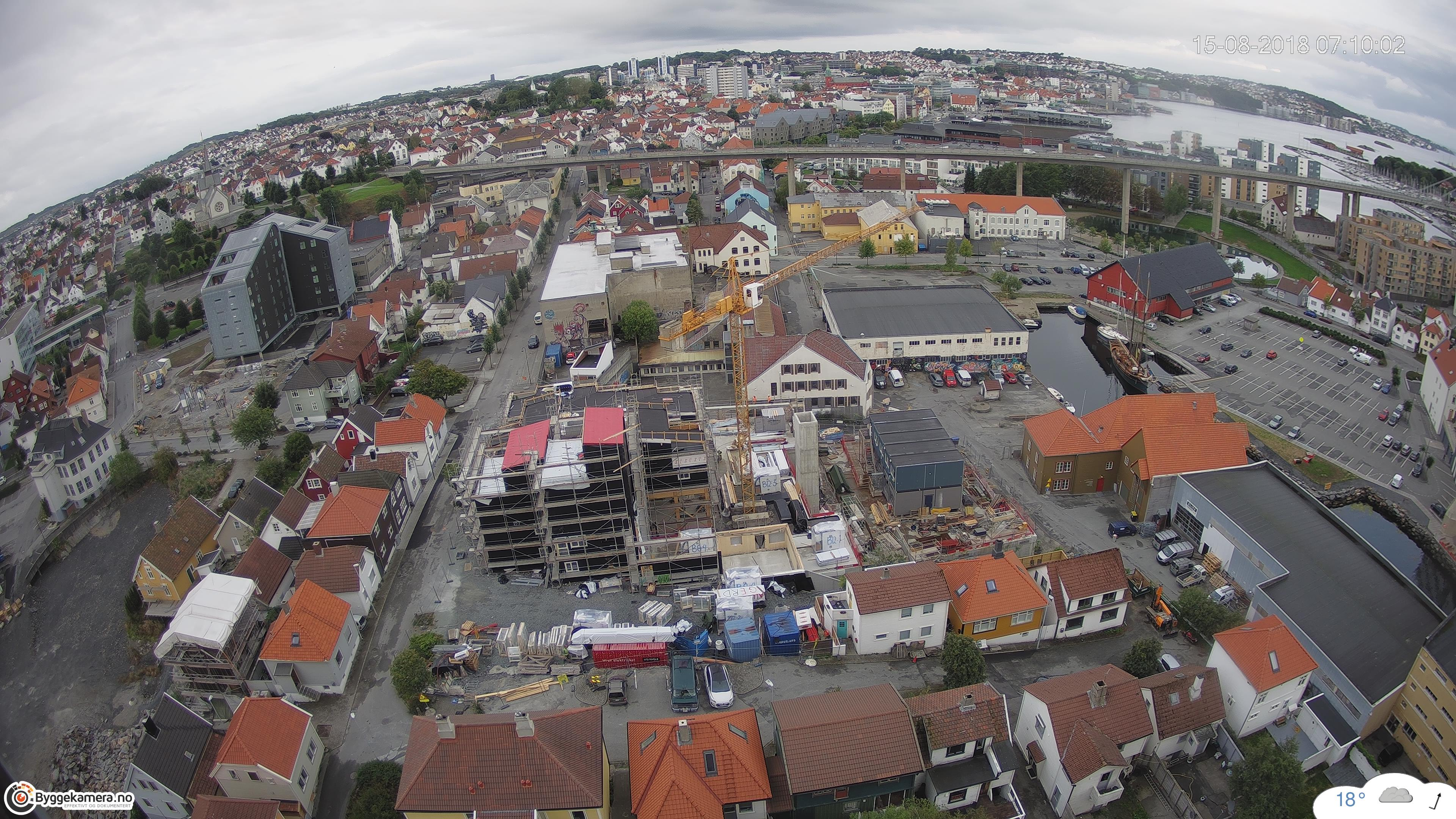 Vindmolleparken Byggekamera timelapse video